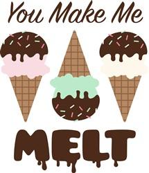 Make Me Melt Print Art