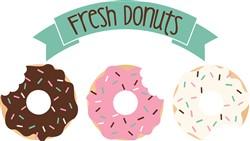 Fresh Donuts Print Art