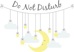 Do Not Disturb Print Art