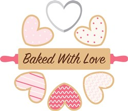 Baked With Love Print Art