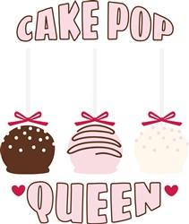Cake Pop Queen Print Art