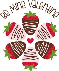 Be Mine Print Art