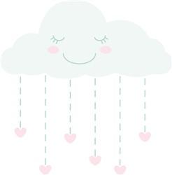 Valentine Cloud Print Art