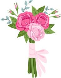 Valentine Bouquet Print Art