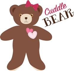 Cuddle Bear Print Art