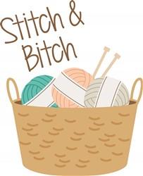 Stitch Bitch Print Art