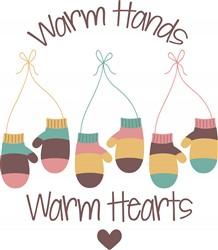 Warm Hands Print Art