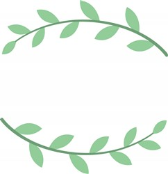 Plant Wreath Print Art