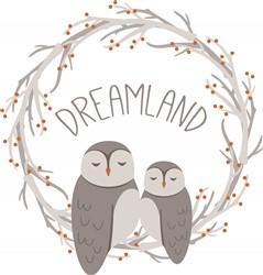 Dreamland Owls Print Art