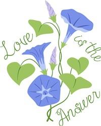 Love Is Answer Print Art