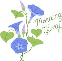 Morning Glory Print Art
