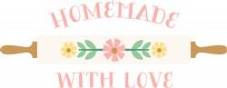 Homemade Love Print Art