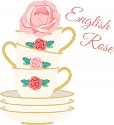 English Rose Print Art