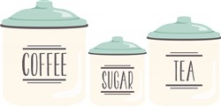 Kitchen Canisters Print Art
