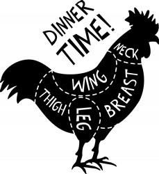 Dinner Time Print Art