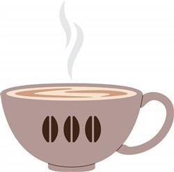 Latte Cup Print Art