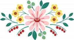 Floral Flower  Print Art