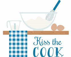 Kiss The Cook Print Art