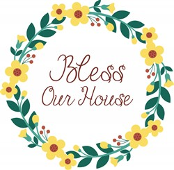 Bless Our House Print Art