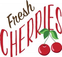 Fresh Cherries Print Art