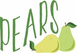 Fruit Pears Print Art
