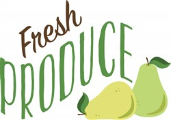 Fresh Produce Print Art
