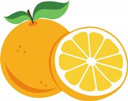 Oranges Print Art