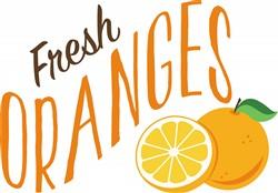 Fresh Oranges Print Art