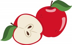 Apples Print Art