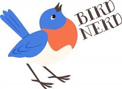 Bird Nerd Print Art
