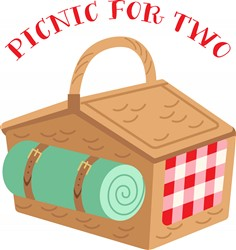 Picnic For Two Print Art
