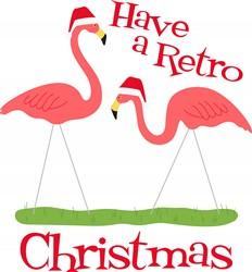 Retro Christmas Print Art