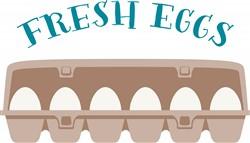 Fresh Eggs Print Art