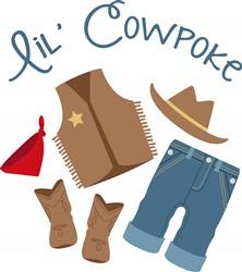 Lil Cowpoke Print Art