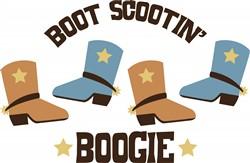Scooting Boogie Print Art