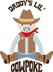 Daddys Cowpoke Print Art