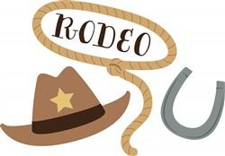 Cowboy Rodeo Print Art
