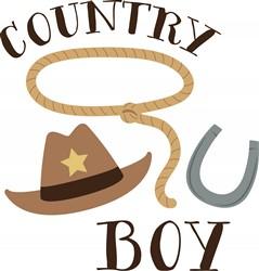 Country Boy Print Art