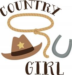 Country Girl Print Art