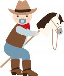 Cowboy Baby Print Art
