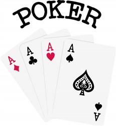Poker Print Art