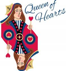 Queen Of Hearts Print Art