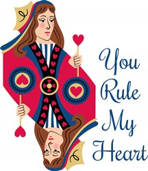 Rule My Heart Print Art