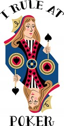 Rule At Poker Print Art