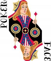 Poker Face Print Art