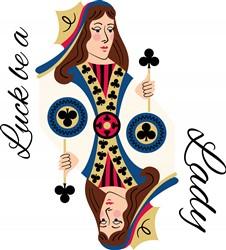Luck Lady Print Art