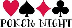 Poker Night Print Art