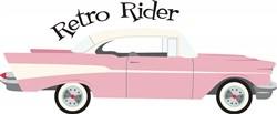 Retro Rider Print Art