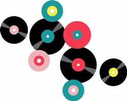 Vinyl Records Print Art