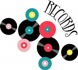 Records Print Art